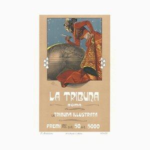 La Tribuna - Original Lithograph by G. Mataloni - 1897 1897