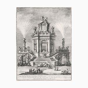 Nobil'Edifizio a diporto in Luogo di Delizia - Etching by Giuseppe Vasi - 1776 1776