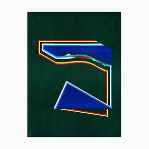 Lithographie Geometric Figures - Original par Paolo Cotani - 1970 ca. 1970