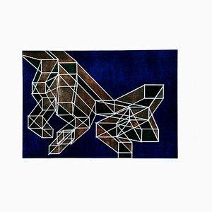 Ratio - Original Lithograph by Achille Perilli - 1970 ca. 1970