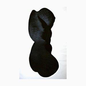 Silhouette - Original Etching by Giacomo Porzano - 1972 1972