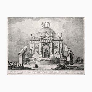 Tempio dedicato alla Pace - Etching by Giuseppe Vasi - 1773 1773