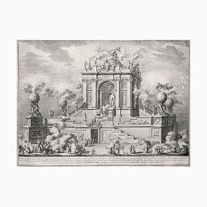 Magnifico Arco con il Simulacro di Ercole Tebano - by Giuseppe Vasi - 1767 1767