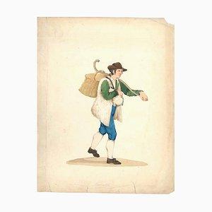 Gioncataro - Aquarell von M. De Vito - ca. 1820 1820 ca