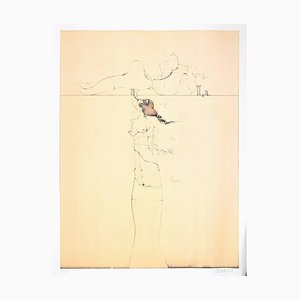 Untitled - Original Lithographie von Paul Wunderlich - 1970 1970