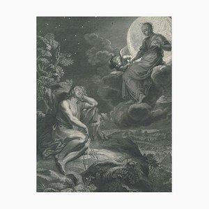 La Lune et Endymion, from ''Le Temple des Muses'' by B. Picart 1742