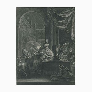 Lycaon, from ''Le Temple des Muses'' by B. Picart 1742