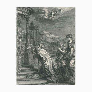 Œnée, de '' Le Temple des Muses '' par B. Picart 1742