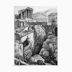 Veduta Generale del Tempio della Sibilla... - by L. Rossini - 1824 1824