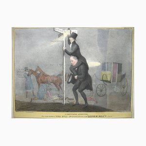 The Evil Workings of the 'Reform Bill' '- Lithografie von J. Doyle - 1831 1831