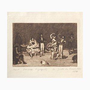 Danseurs Espagnols - Original Etching by Edouard Manet - 1878 1878