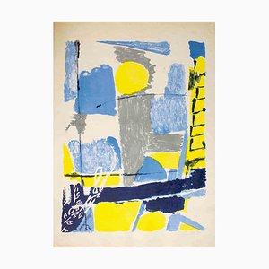 Composition - Original Lithographie von Gastone Breddo - 1961 1961