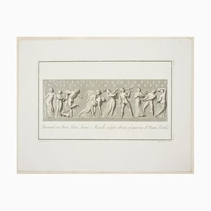 Bacchanalia - Original Etching by P. Fontana After A. Tofanelli - 1821 1821