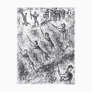 La Tranchée - Original Etching by M. Chagall - 1977 1977