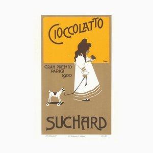 Cioccolatto - Vintage Advertising Lithograph by A. Terzi - 1900 ca. 1900 ca.