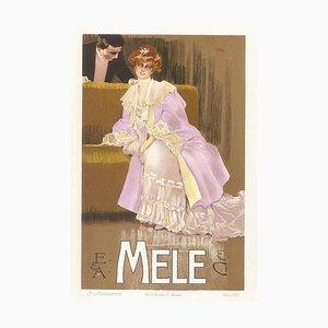 Mele - Original Vintage Advertising Lithographby L. Metlicovitz - 1906 1906