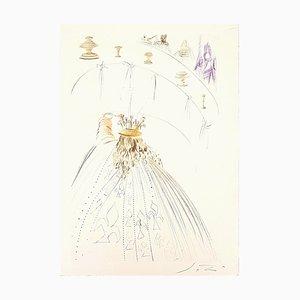 Les Chevaliers du Roi Artur - Original Etching by S. Dalì - 1969 1969