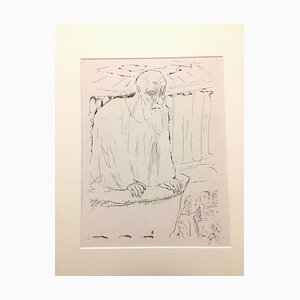 The Teacher - Original Lithograph by Pierre Bonnard - 1930 1930
