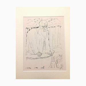 The Teacher - Original Lithographie von Pierre Bonnard - 1930 1930