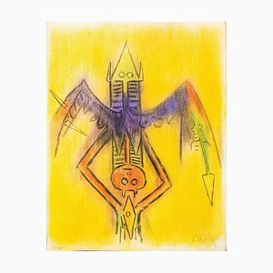 Innocence - Original Lithograph by Wifredo Lam - 1974 1974