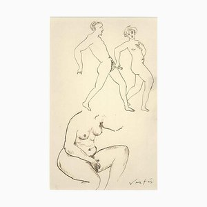 Erotic Drawing n. 6 - 1930s - Marcel Vertès - Ink - Modern