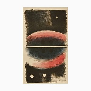 Figures with Balls - 1970s - Paul Mansouroff - Lithograph - Contemporary 1970 ca.
