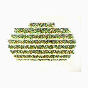 Alisei - Original Lithograph by Piero Dorazio - 1981 1981