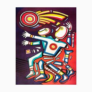 Athleticism, Original Lithographie von Alfredo Sosabravo - 2008 2008