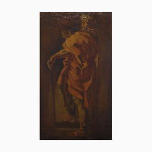 Study for a Male figure with Turban - Italian School of Bologna - 18th century 17-18th century