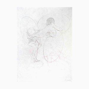 Juliette ou les Prospérités du Vice - Original Etching by H. Bellmer - 1968 1968