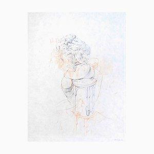 La Philosophie dans le Boudoir - Original Etching by H. Bellmer - 1968 1968