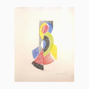 Untitled - Original Etching by Sonia Delaunay - 1966 1966