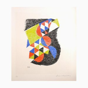 Acquaforte Untitled - Original di Sonia Delaunay - 1966 1966
