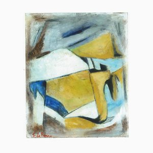 Synthetic Cubism - Oil Painting 2012 by Giorgio Lo Fermo 2012
