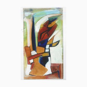 Abstract Post-Cubism - Oil Painting 2012 by Giorgio Lo Fermo 2012