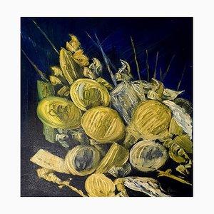 Paladini - Original Öl auf Leinwand von Laura D'Andrea - 1998 1998