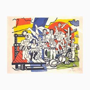 La Grande Parade - Original Lithograph by F. Léger - 1960s 1960s