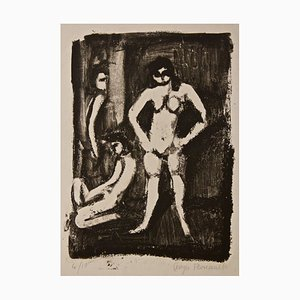 Models - Original Lithograph by Georges Rouault - 1950s 1950s