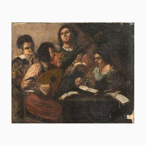 Concerto - Oil on Canvas by Early 20th Century Master Early 20th Century