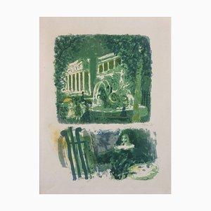 Composition - Original Color Lithograph by Antoni Clavé - 1943 1943