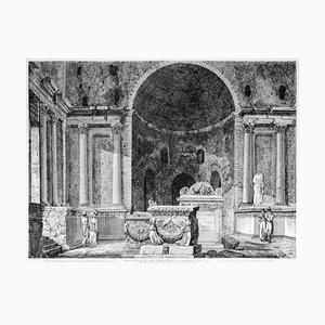 Interno della Basilica della Fortuna Prenestina - by L. Rossini - 1826 1826