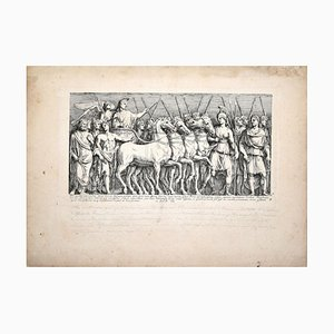 Le Bourguignon - Original Etching by François Perrier - 1630 1630