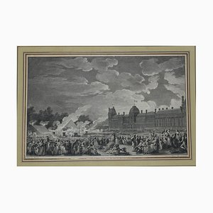 Le Revolution Française - Original Etching by I.S. Helman End of 1700