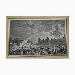 Le Revolution Française - Original Radierung von IS Helman Ende 1700