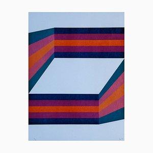 Perspective II - Original Lithograph by Renato Livi - 1971 1971