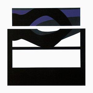 Purple Vision - Original Lithograph by Carmen Morales - 1966 1966