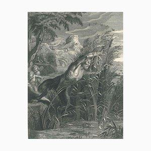 Pan et Syrinx - Radierung von B. Picart - 1742 1742