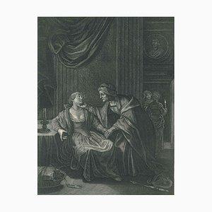 Leucothoé et Apollon, de '' Le Temple des Muses '' 1742