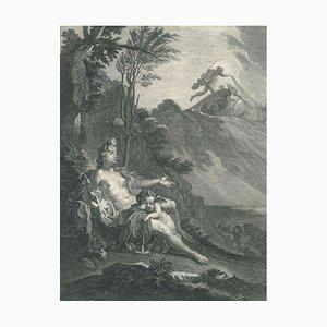 Clytie, von '' Le Temple des Muses '' 1742