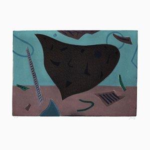 A Surrealist Composition - Original Radierung von Henry Goetz - 1970er 1970